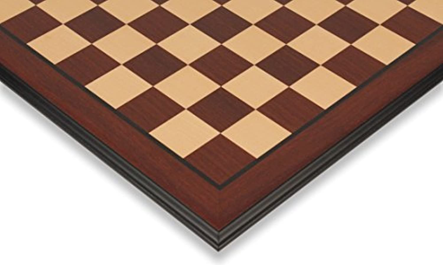 Bud Rosewood & Maple Chess Board with Molded Edge - 2.125 Squares by The Chess Store [並行輸入品]