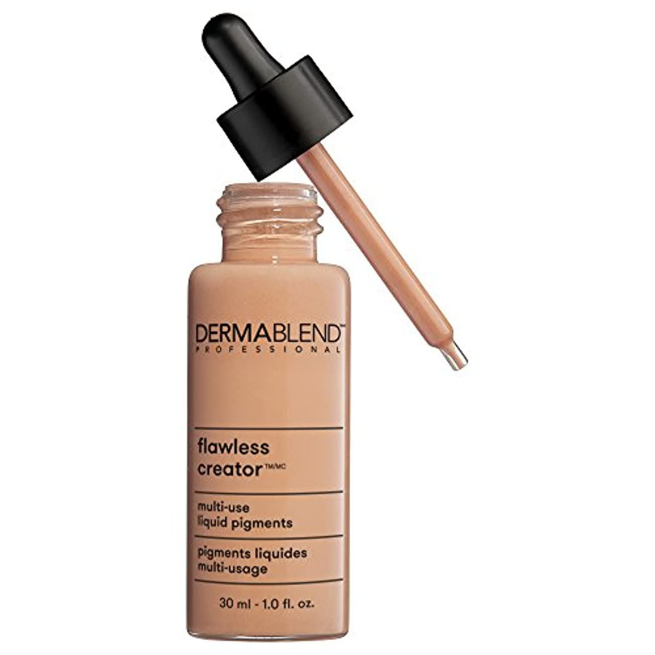 学部長楽観的動的ダーマブレンド Flawless Creator Multi Use Liquid Pigments Foundation - # 35W 30ml/1oz並行輸入品