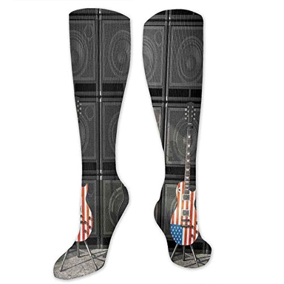 ジョージスティーブンソン重大生き残ります靴下,ストッキング,野生のジョーカー,実際,秋の本質,冬必須,サマーウェア&RBXAA Black Us Bass Guitar Electronic Socks Women's Winter Cotton Long Tube...