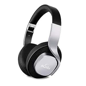 iDeaUSA Bluetoothヘッドホン ワイヤレスヘッドホン ステレオヘッドホン/高音質/密閉型/折り畳み式/軽量/操作簡単/マイク付き/遮音性/ハンズフリー通話/スペースグレー