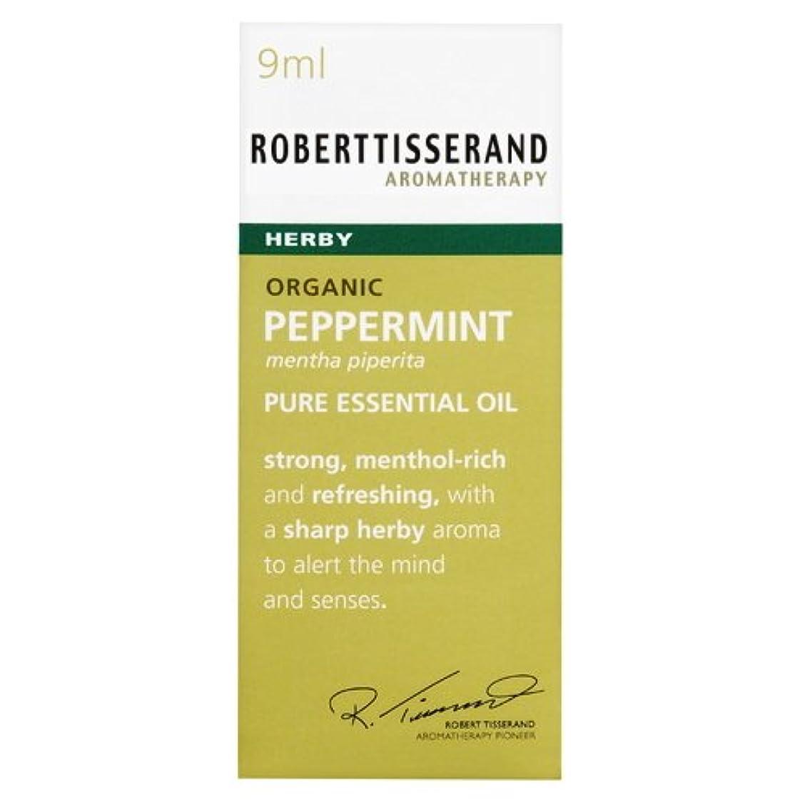 不和汚物仕えるロバートティスランド 英国土壌協会認証 オーガニック ペパーミント 9ml