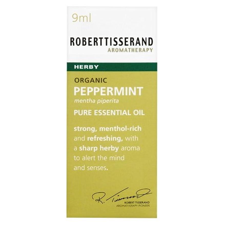 隠された美容師軽食ロバートティスランド 英国土壌協会認証 オーガニック ペパーミント 9ml