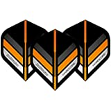 Hardcore Stripe Extra Thick Standard Dart Flights - 5 sets Per Pack (15 Dart Flights in total) & Red Dragon Checkout Card