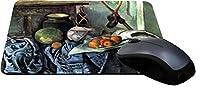 Rikki Knight Paul Cezzane Art Still Life with Eggplant Design Lightning Series Gaming Mouse Pad (MPSQ-RK-3135) [並行輸入品]