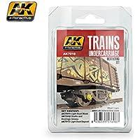AK Interactive Trains Undercarriage Paint Set 7010