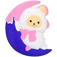TheRang Moon 羊の香り付き スクイーズ ゆっくり元に戻る 子供向けおもちゃ