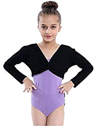 Kosplay子供~大人用 フロントタイボレロ バレエウォームアップ 綿 肌に優しい 便利 全3色