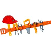 Workman Toy Tool Belt and Hard Hat Set by Workman [並行輸入品]