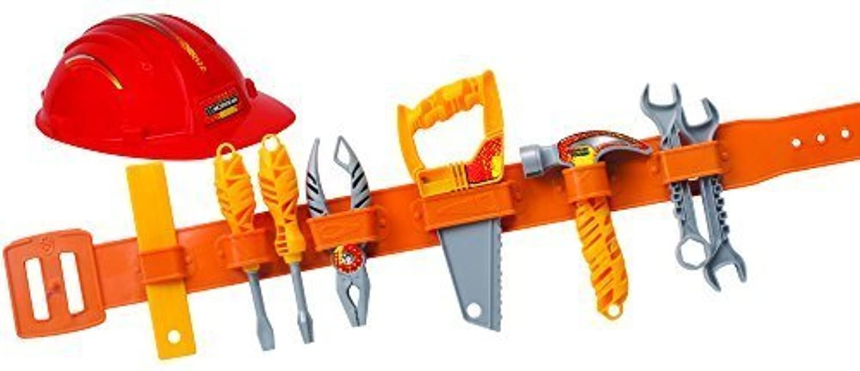 Workman Toy Tool Belt and Hard Hat Set by Workman [並行輸入品]