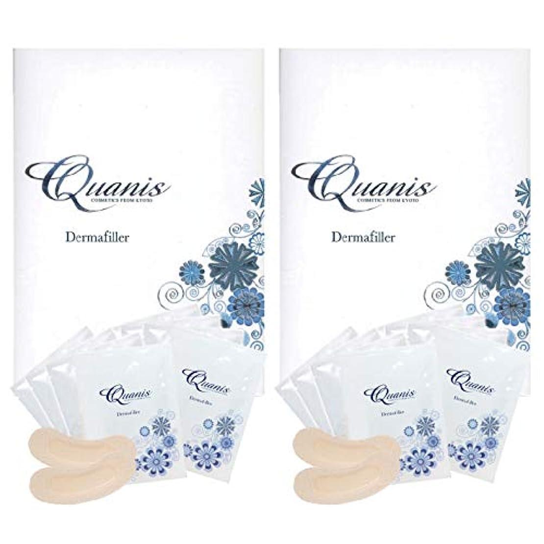 有名与える上級Quanis クオニス ダーマフィラー 8セット(2個セット)