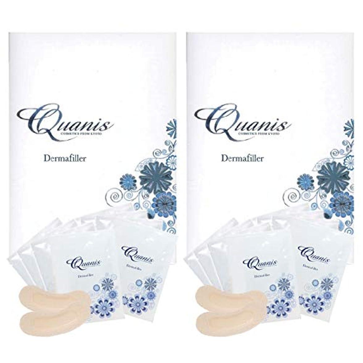 理由過敏な悩みQuanis クオニス ダーマフィラー 8セット(2個セット)