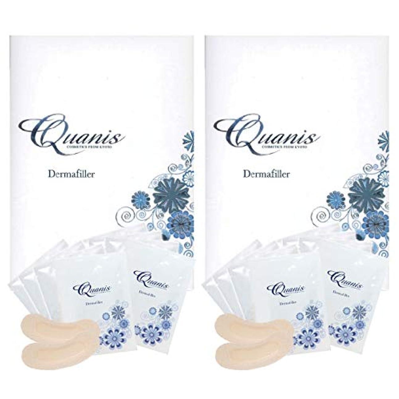 スポンサー戦略経済Quanis クオニス ダーマフィラー 8セット(2個セット)
