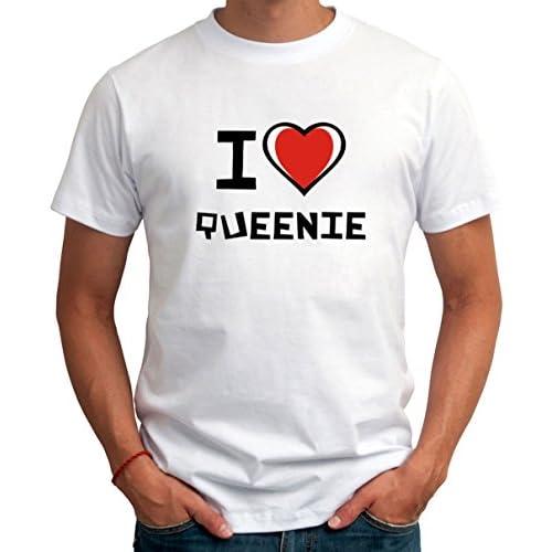 I love Queenie メンズTシャツ