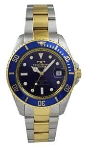 Technos(テクノス) テクノス 自動巻き回転ベゼルメンズウオッチ メンズ腕時計 ブルー(T4248TN)