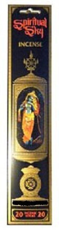 安定した野生緯度Patchoulyムスク – Spiritual Sky Incense Sticks ( 20スティックパッケージ)