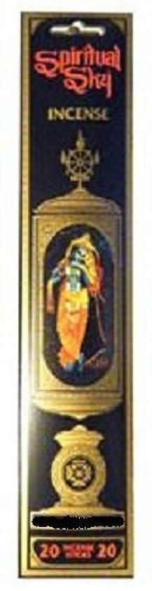 武装解除竜巻合図Patchoulyムスク – Spiritual Sky Incense Sticks ( 20スティックパッケージ)