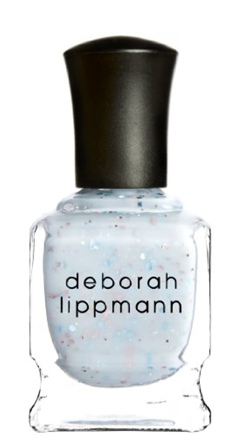 たくさんジョージハンブリー不透明な[Deborah Lippmann] デボラリップマン グリッター イン ジ エアー/GLITTER IN THE AIR 透明感のあるクリーミーな水色のベースに ピンクとブルーのラメが入るかわいいカラー ふんわりした印象...