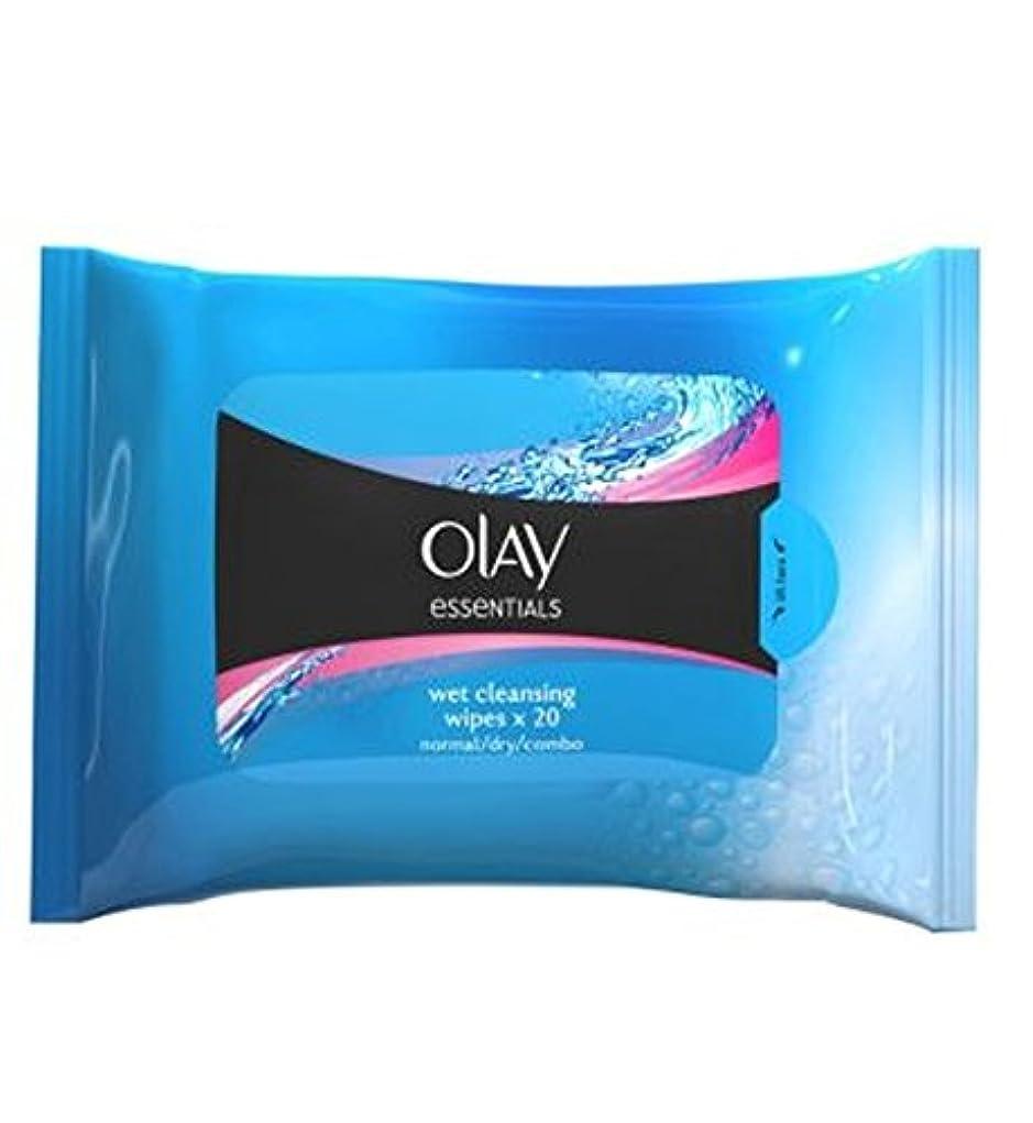 過度にクリスマス機転オーレイ顔の正常な皮膚のクレンジングは、再シール可能なポーチX20にワイプ (Olay) (x2) - Olay Facial Normal Skin Cleansing Wipes in Resealable Pouch...