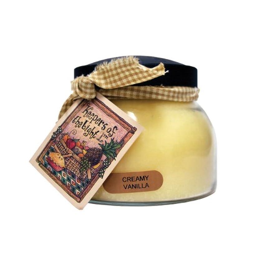 直立半ばリールA Cheerful Giver Creamy バニラ ベイビージャーキャンドル 22oz JM108