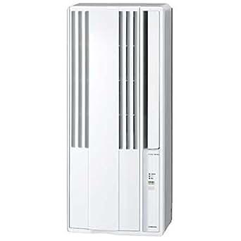 コロナ 窓用エアコン(冷房専用・おもに4~6畳用 シェルホワイト)CORONA CW-F1617-WS