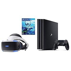 PlayStation 4 Pro ジェット・ブラック 1TB + PlayStation VR PlayStation Camera 同梱版 + PlayStation VR WORLDS セット