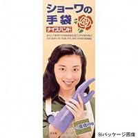 ショーワグローブ/SHOWA/ビニール手袋 ナイスハンド 厚手箱入 [60双入] サイズ:L カラー:グリーン