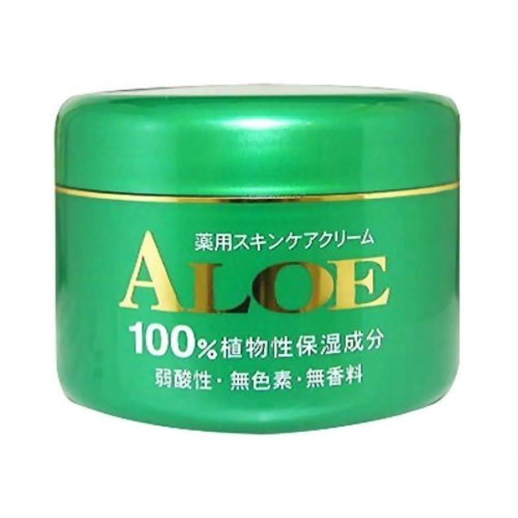 庭園軽減状態アロエ薬用スキンケアクリーム185g
