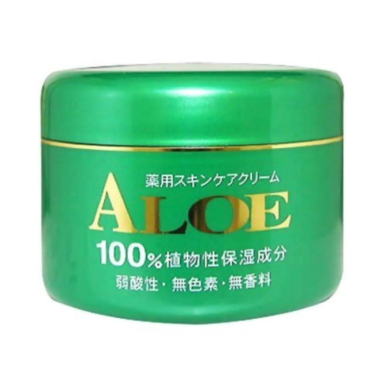 排気服を着る記憶アロエ薬用スキンケアクリーム185g