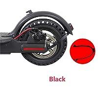 OSMNICE 自転車用アクセサリー オートバイリアホイールフェンダースプラッシュガード Xiaomi Mijia M365 マッドガードブラケット フェンダーサポートスクーター改造用 マッドガードブラケット (ブラック)