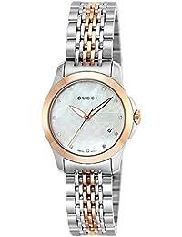 [グッチ]GUCCI 腕時計 Gタイムレス ホワイトパール文字盤 YA126539 レディース 【並行輸入品】