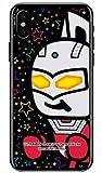 [iPhone X/Apple専用] スマートフォンケース ウルトラマンシリーズ ウルトラセブン ズームスター (クリア) 3APIPX-PCNT-214-V2AA