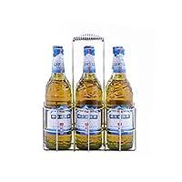 (キャサヴィー) Casavidas卓上ワインホルダー ボトルサーバー 6本用 金属製テーブルスタンドラック ハンドバスケット ビールコンテナ レストラン KTVバー用