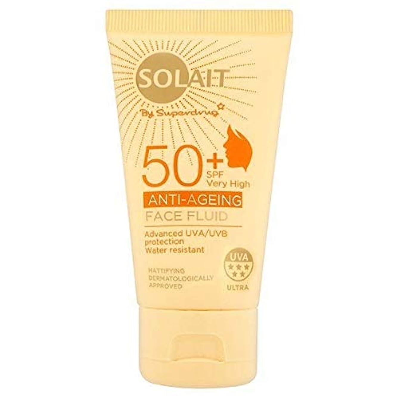 ベアリング調子自分を引き上げる[Solait] Solait顔日クリームSpf50液の50ミリリットル - Solait Face Sun Cream Fluid SPF50 50ml [並行輸入品]