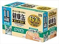 11歳からの健康缶 しっとりムース かつお 40g×6缶×12缶