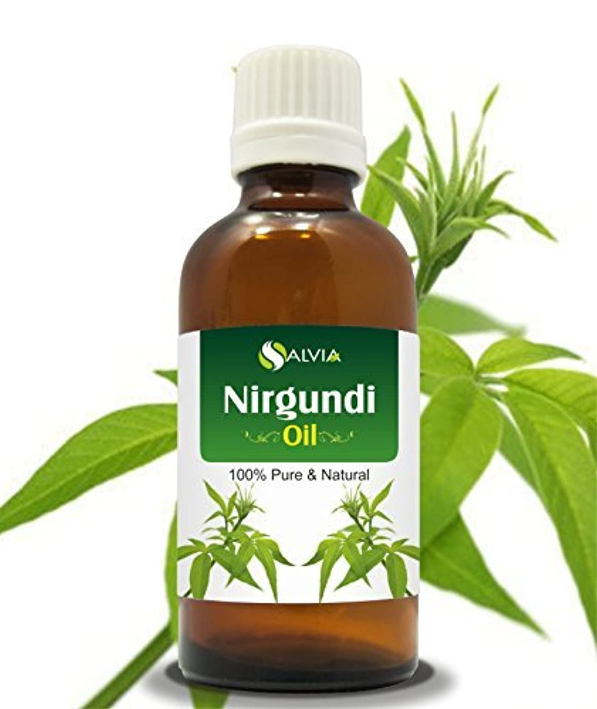 午後スキニー磁器NIRGUNDI OIL 100% NATURAL PURE UNDILUTED UNCUT ESSENTIAL OIL 30ml by SALVIA