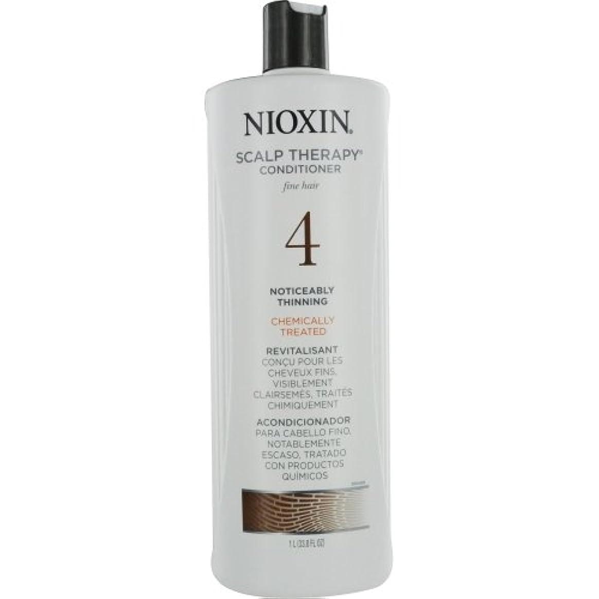 ピュー説明的バラ色ナイオキシン Density System 4 Scalp Therapy Conditioner (Colored Hair, Progressed Thinning, Color Safe) 1000ml/33.8oz...
