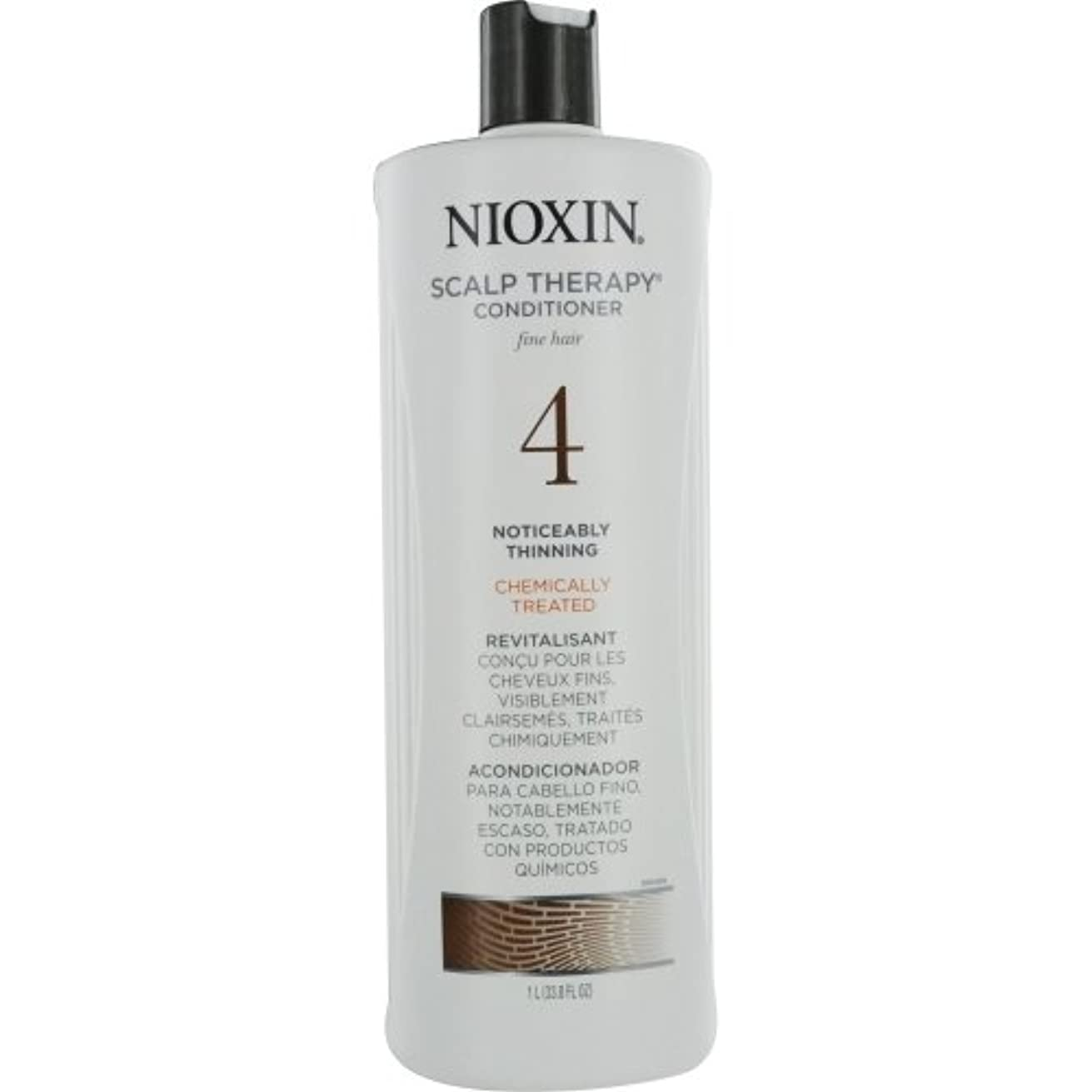 テープ敬意を表するワイプナイオキシン Density System 4 Scalp Therapy Conditioner (Colored Hair, Progressed Thinning, Color Safe) 1000ml/33.8oz...