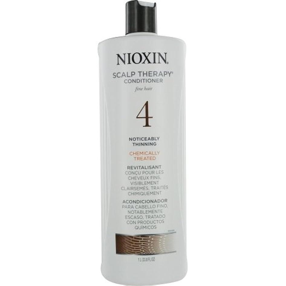 マラソン再びナースナイオキシン Density System 4 Scalp Therapy Conditioner (Colored Hair, Progressed Thinning, Color Safe) 1000ml/33.8oz...