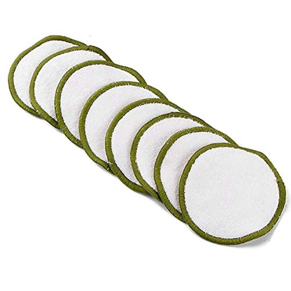 受賞扱うコンクリート16個の竹繊維化粧リムーバー洗える竹繊維化粧リムーバー綿パッド化粧リムーバーパッド(16竹繊維+綿メッシュバッグ)