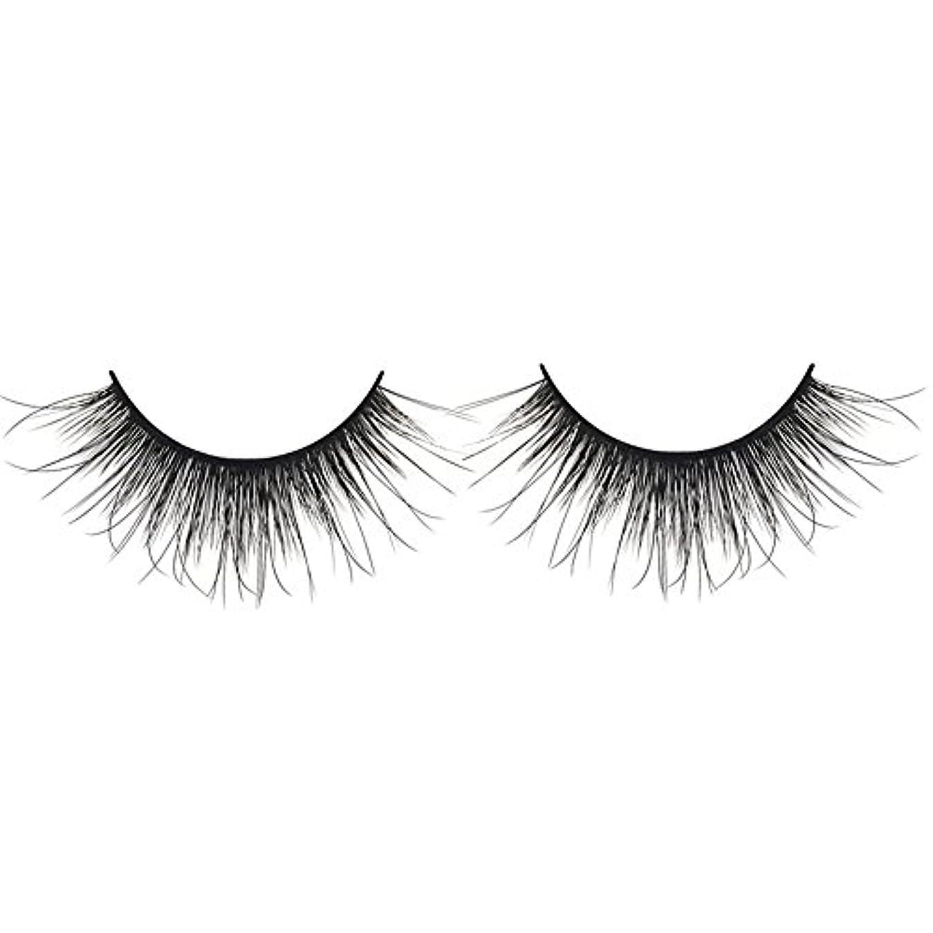延ばす増強見込み黒の3D人工ミンクの髪のソフトロングナチュラルメイクアップアイまつ毛スレンダー