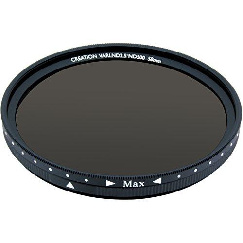 MARUMI カメラ用フィルター CREATION VARI ND 58mm 可変式光量調節用 096096