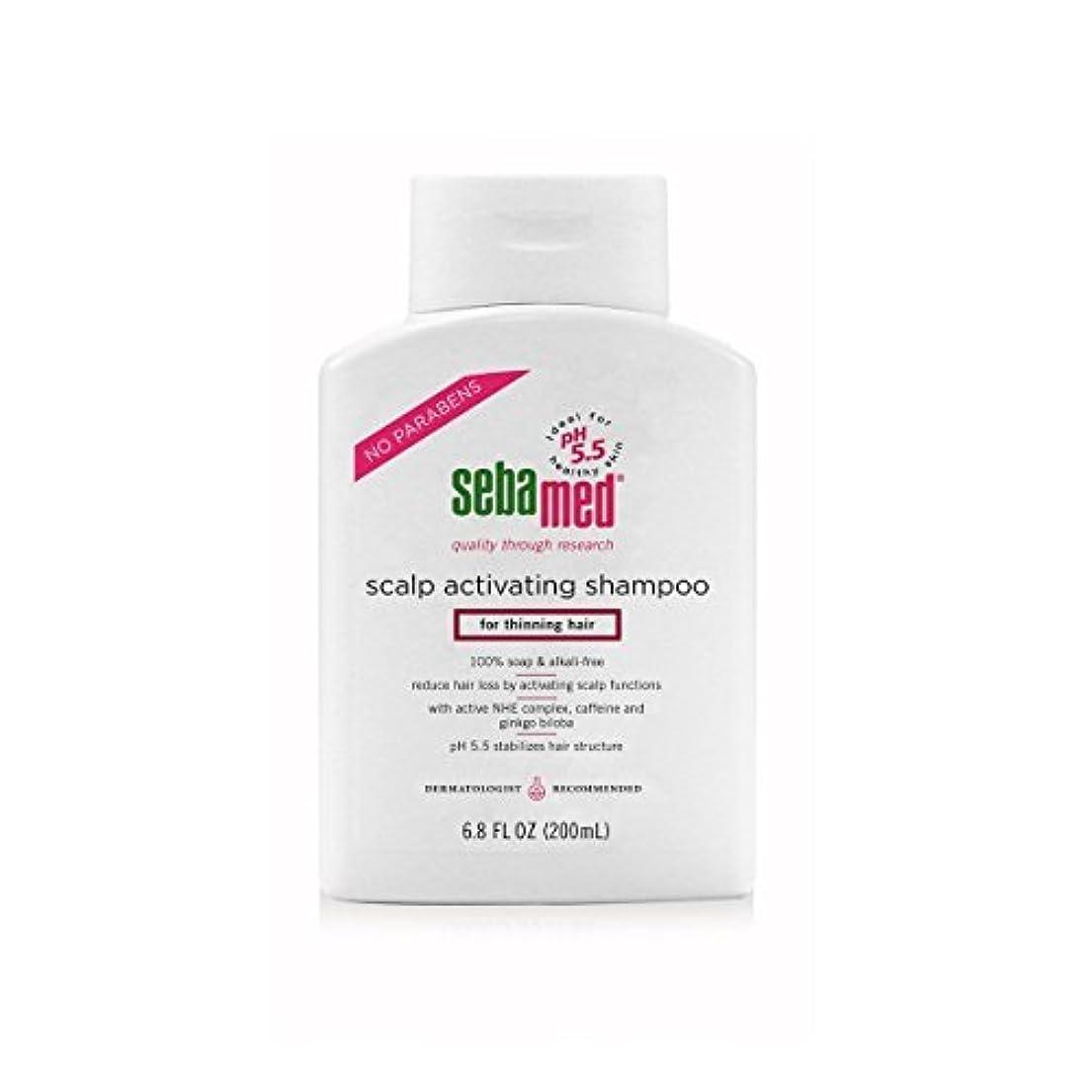 法的継続中ドライブSebamed Scalp Activating Shampoo for Thinning Hair, 6.8 fl. oz. [並行輸入品]