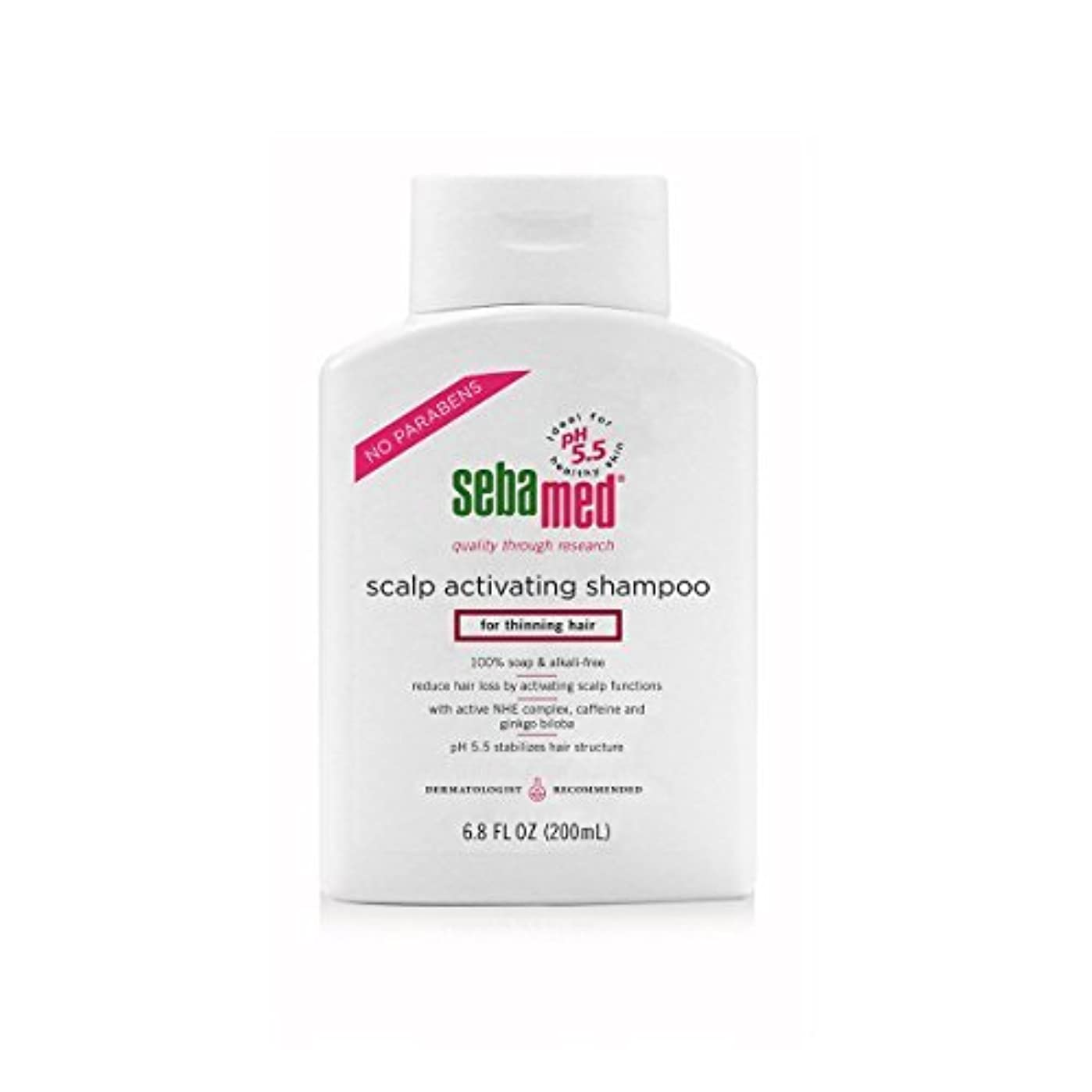 出版バター代理人Sebamed Scalp Activating Shampoo for Thinning Hair, 6.8 fl. oz. [並行輸入品]