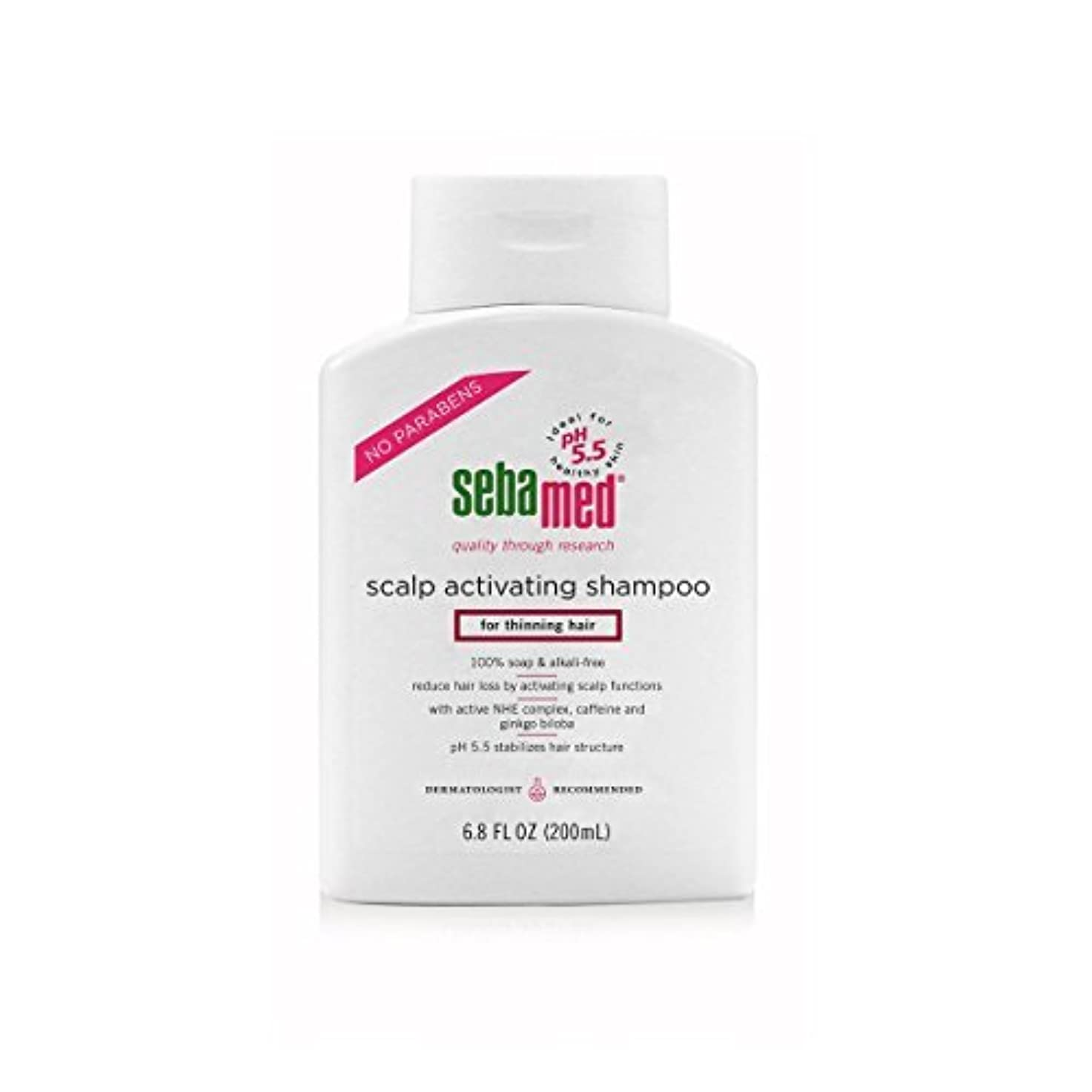 オフ今後戻すSebamed Scalp Activating Shampoo for Thinning Hair, 6.8 fl. oz. [並行輸入品]