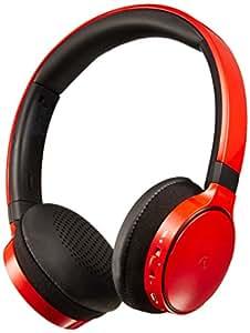 PHILIPS 密閉型ワイヤレスヘッドホン オンイヤー/Bluetooth対応 レッド SHB9150RD
