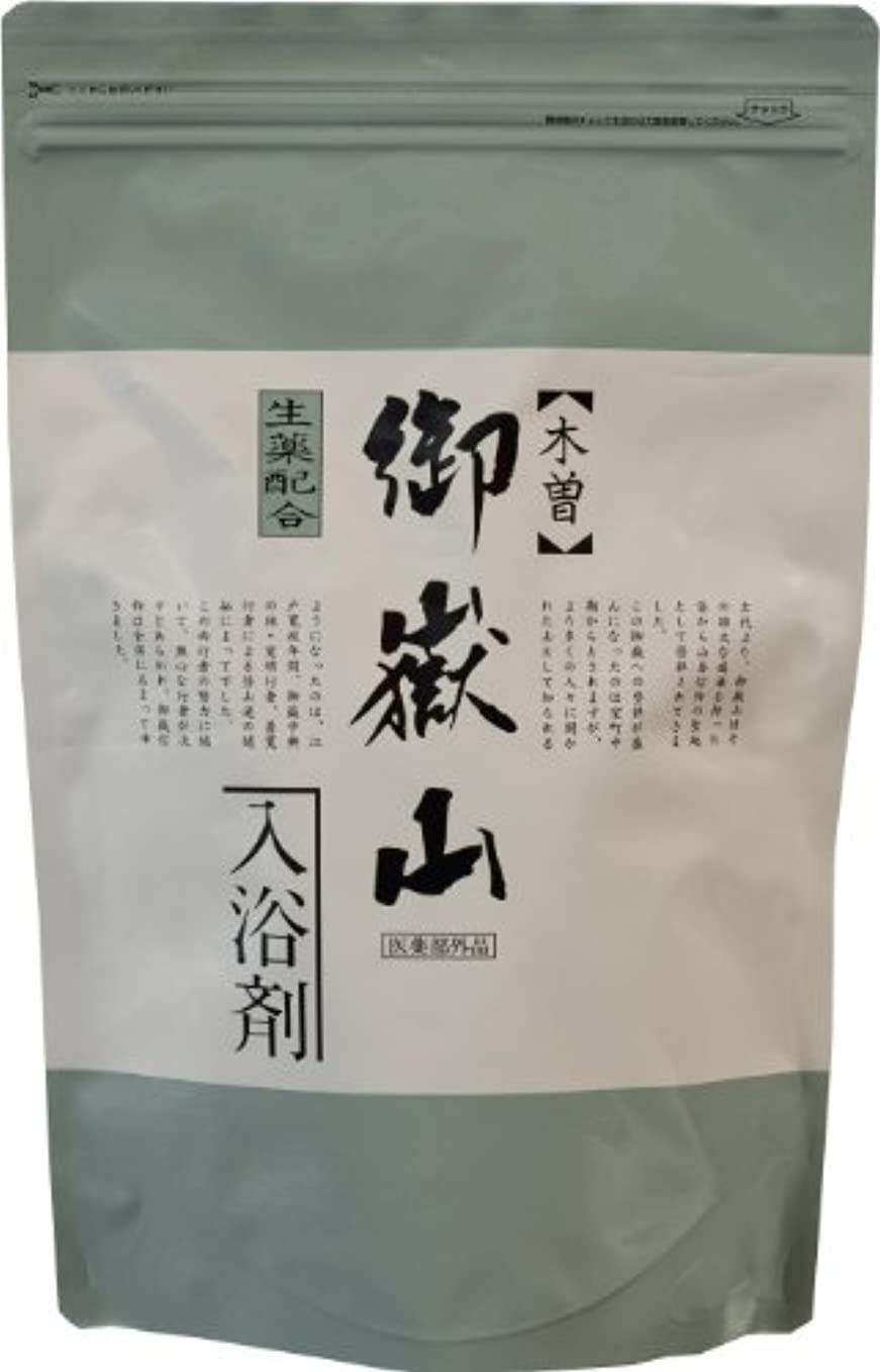 デザート満足許す薬湯 御嶽山入浴剤 15.5g*14包