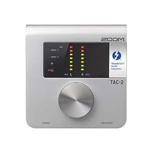 ZOOM オーディオインターフェイス TAC-2