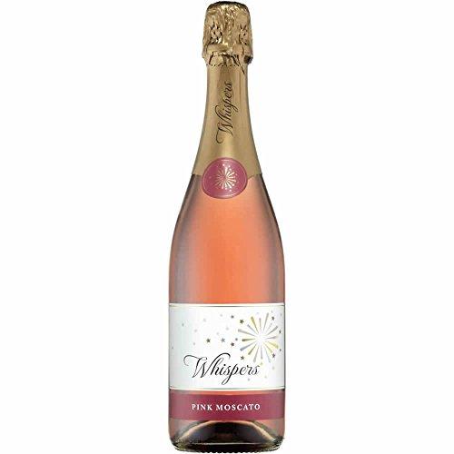 ウィスパーズ スパークリング ピンクモスカート ロゼ 750ml