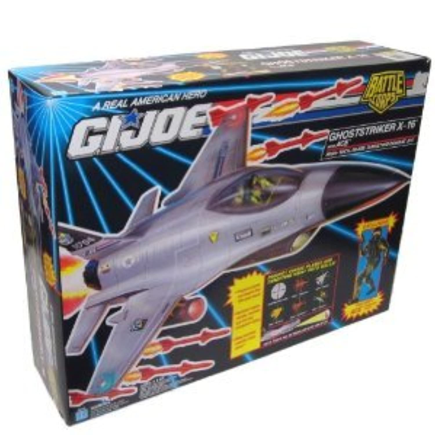 GI Joe A Real American Hero Battle Corps Ghoststriker X-16 with Ace Combat Jet(並行輸入)