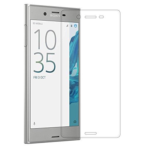 AMOVO Sony Xperia XZ全面ガラスフィルム 0.26mm 9H クリア